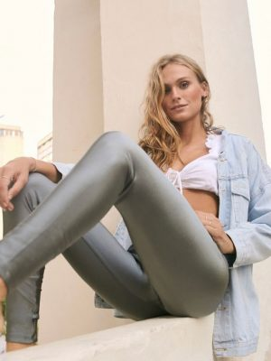 Legging Prata Fashion