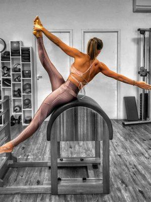 Legging Rosé Newvision Fashion Brilho E Textura